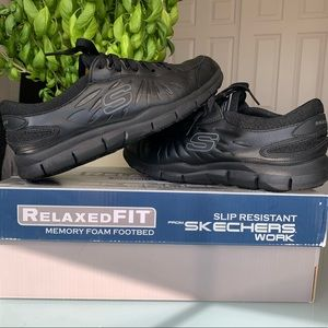 Skechers Relaxed FIT Slip Resistant Work Shoes